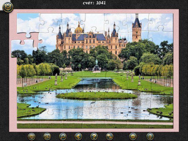 1001 Пазл. Вокруг Света. Дворцы и Замки